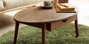 引き出し収納付きテーブル coln(コルン)
