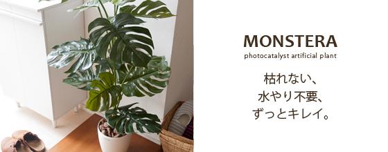植物 人工の観葉植物でお部屋に彩りを♪
