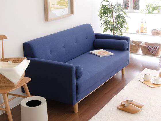 ゆったりくつろげる北欧デザインソファ
