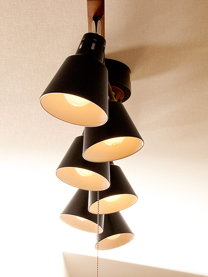 6灯シーリングライト