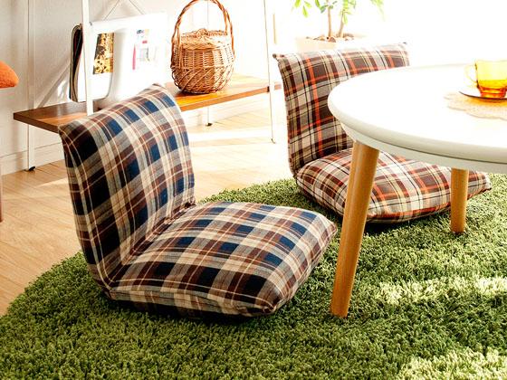 こちらの座椅子は小ぶりなのでコタツやリビングテーブルにも最適。 大きな座椅子にはないちょこっと座りにオススメです。 コンパクトサイズなのでワンルームやスペース