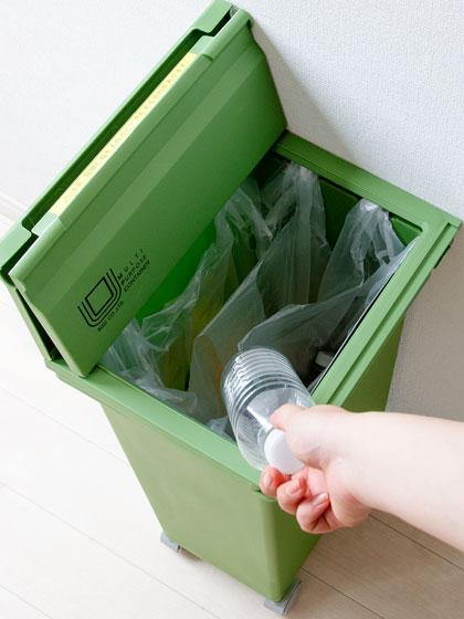 分別できるゴミ箱