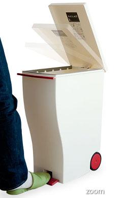 ペダル式ゴミ箱