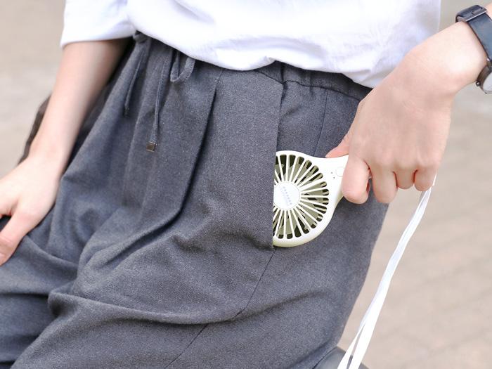 コンパクトファンディファン ポケットにも入るコンパクトサイズ