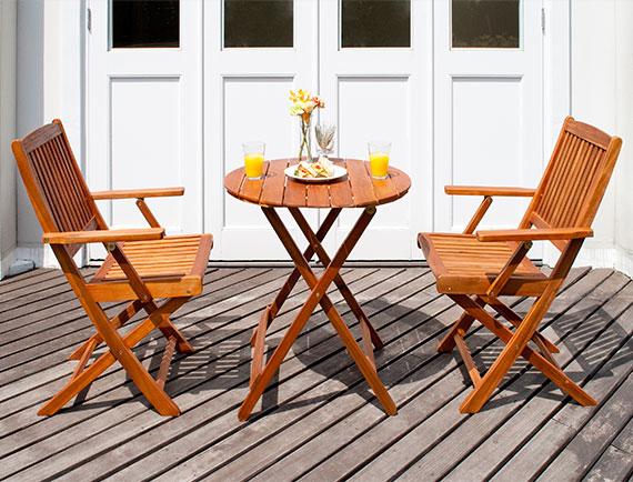 カフェ ガーデン カフェテーブルセット 2人用 Cassy(カッシー)ラウンドテーブル 3点セット