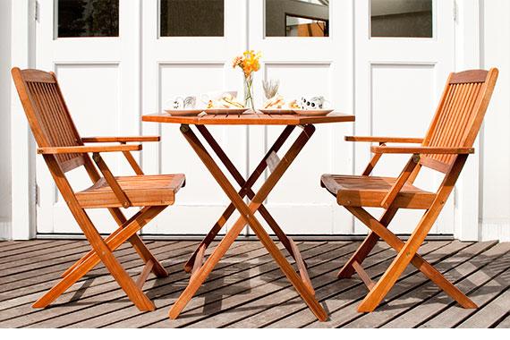 カフェ ガーデン ガーデンテーブルセット 2人用 カフェテーブルセット Cassy(カッシー)90cm幅テーブル 3点セット
