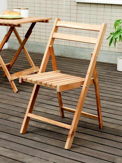 ガーデンチェア木製