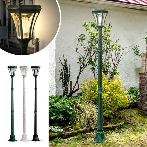 ソーラーガーデンライト ソーラーライト LEDソーラー ガーデンライト グリーン アイボリー ブラック