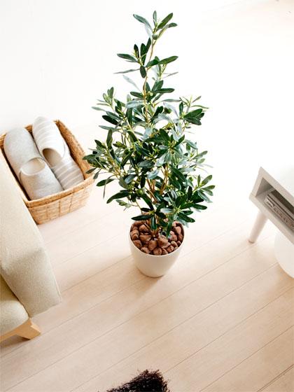 光触媒人工植物 Olive 〔オリーブ〕 グリーン