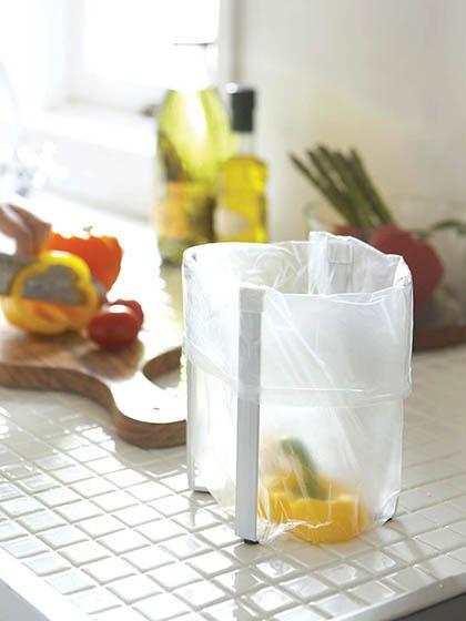 ゴミ袋ホルダー キッチンスタンド �
