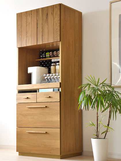 食器棚、北欧 OCTA70キッチンボード �