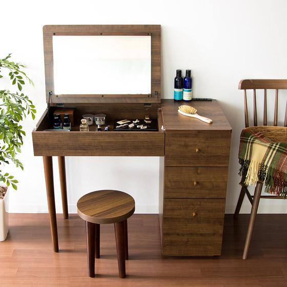 お部屋に合わせやすい木目模様と色味のシンプルデザイン