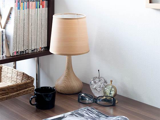 木目調ランプ
