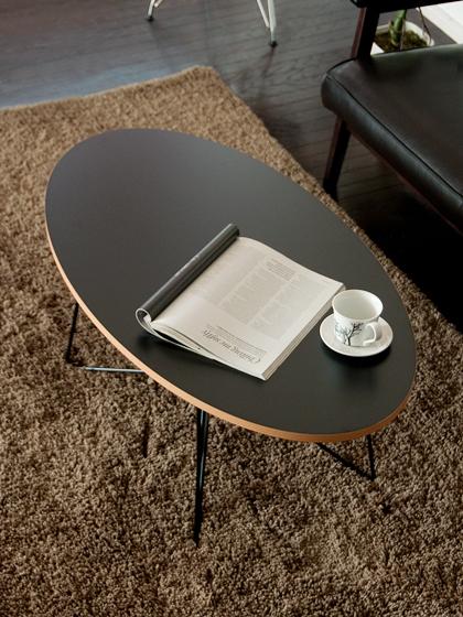楕円テーブル