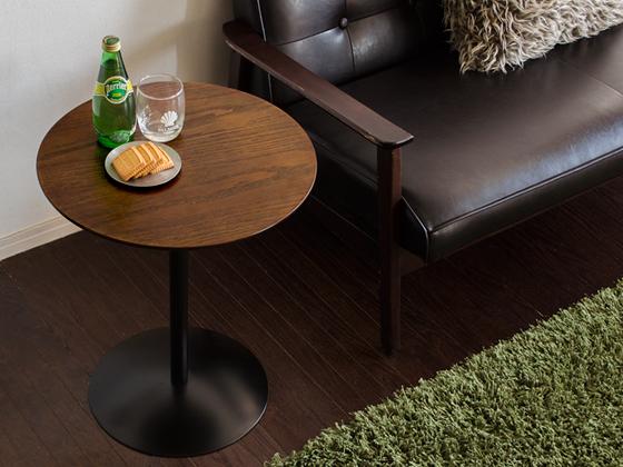 サイドテーブル テーブル 木製 カフ