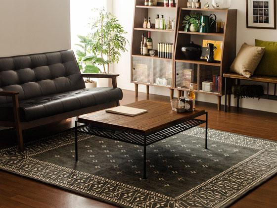 ヴィンテージリビングテーブル vintage wood living table 〔ヴィンテージウッドリビングテーブル〕
