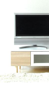 テレビ台Preal living board 120のメイン画像左