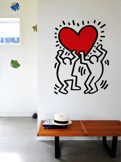 ウォールステッカー インテリアシール 転写式 WALL STICKER Untitled Heart〔アンタイトルド・ハート〕