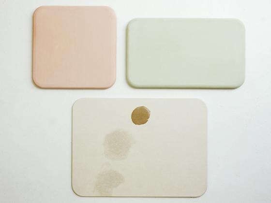 soil〔ソイル〕 バスマット (30×50cm) ホワイト ピンク グリーン