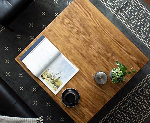 ナチュラルな温もりが人気!木製ローテーブルおすすめ7選
