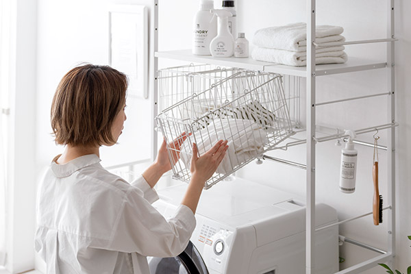 洗濯機上の収納に便利なランドリーラック特集!タイプ別おすすめ7選