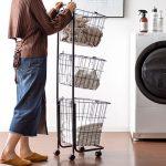 洗濯物を分別、移動も快適!ランドリーワゴンおすすめ5選