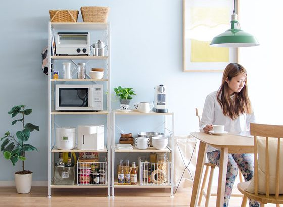 【キッチン収納の選び方】レンジ台・食器棚などおすすめ商品8選