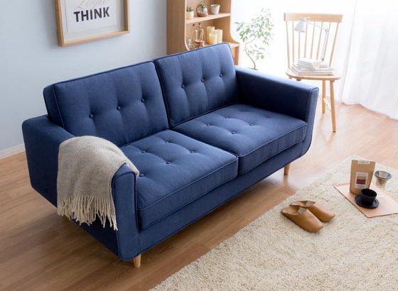 爽やかな開放感で人気!ブルー系ソファおすすめ6選