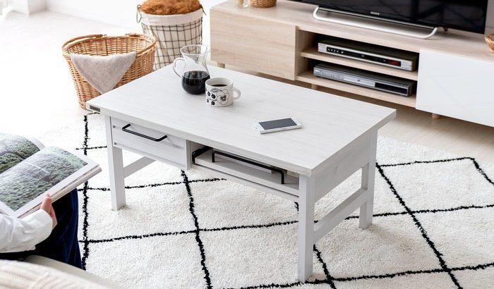 白ローテーブルおすすめ6選!明るく清潔感のあるホワイトカラーがお部屋の雰囲気をUP!