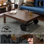 ヴィンテージデザイン トロリーテーブル