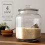 Glass Cookie Jar(ガラスクッキージャー) Lサイズ