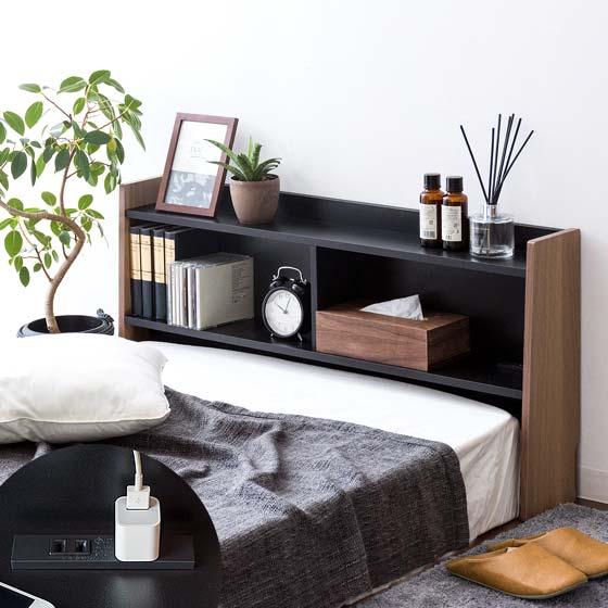 ヘッドボード ベッド マットレス用 布団用 シングルサイズ ヘッドボード単体販売 ブラック ブラウン    ヘッドボードのみの販売となっております。 マットレスは付いておりません。
