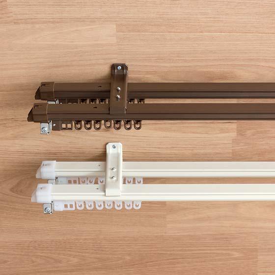 伸縮カーテンレール 1m(60〜100cm)用 �