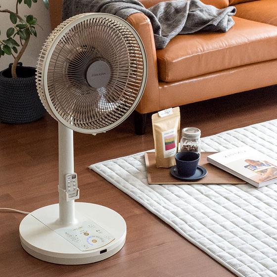 扇風機 静音 サーキュレーター 扇風機 ファン リモコン デザイン家電 DCリビング扇風機 GRAND EDITION ラージタイプ