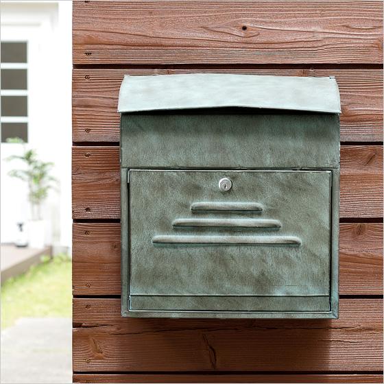 壁掛けポスト メールボックス おしゃれ ブルックリン 人気 メンズライク ヴィンテージ壁掛けポスト ROUTE〔ルート〕