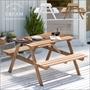 ガーデンテーブル&ベンチ CREAM(クリーム)