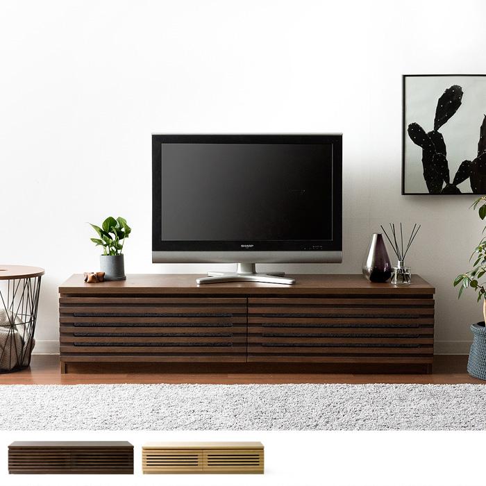 テレビ台 幅150cm 完成品 上質天然木�