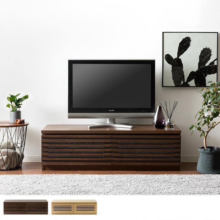 テレビ台 幅120cm 完成品 上質天然木�