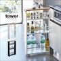 TOWER(タワー) キッチンスリムワゴン