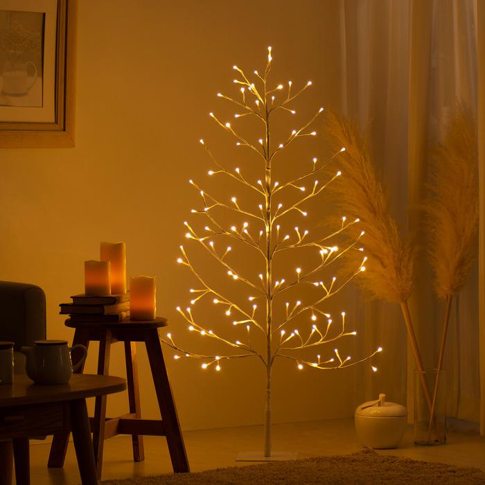 [高さ120cm] LEDブランチツリー elise〔エリーゼ〕 クリスマスツリー ブランチツリー LED ホワイト