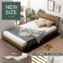 シンプルデザインすのこベッド UNI〔ウニ〕 セミダブルサイズ ダブルサイズ