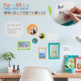 ウォールステッカー インテリアシール デコレーションシール 貼ってはがせるウォールステッカー Notepad Dry Erase&Wall