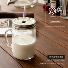 メイソンジャー ガラス ヴィンテージ Ball Mason Jar〔メイソンジャー〕 24oz レッドネック マグ 単品販売となっております。