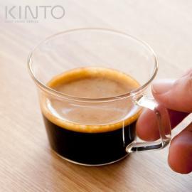 ガラスコップ、ガラスグラス、ガラス KINTO、キントー CAST (キャスト) エスプレッソカップ 90ml