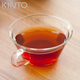 ガラスコップ、ガラスグラス、ガラス KINTO、キントー CAST (キャスト) ティーカップ 220ml