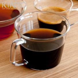 ガラスコップ、ガラスグラス、ガラス KINTO、キントー CAST (キャスト) コーヒーカップ 220ml