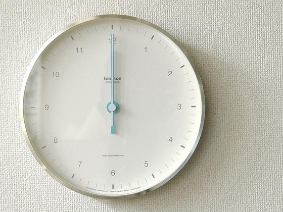 掛け時計 壁掛け 電波時計 MIZUIRO〔ミズイロ〕 ホワイト